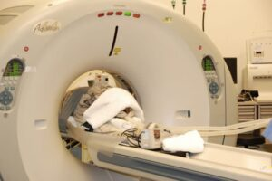 Nora gets a CT scan