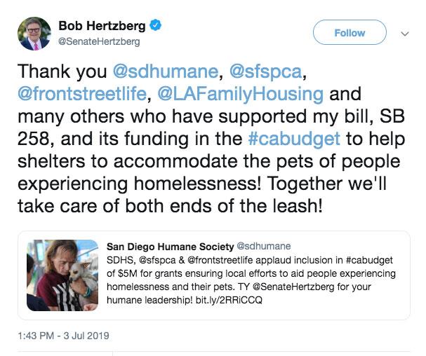 Hertzberg tweet