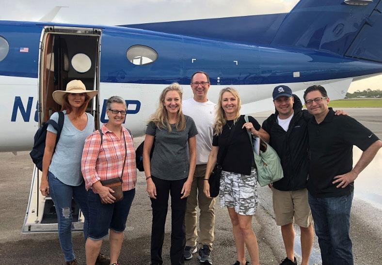 AWF team help horses in the Bahamas