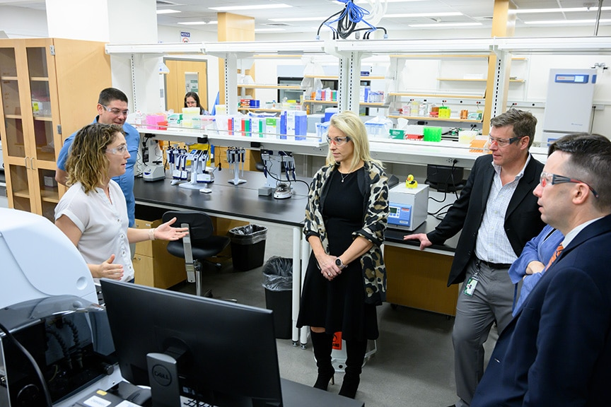 CSU, Zoetis leaders herald launch of new research lab